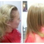 A szalonterápia teljes hajszerkezet regenerálást biztosít még durván károsodott haj esetében is.